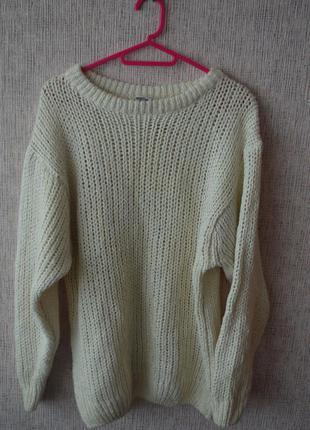Очень теплый треновый свитер