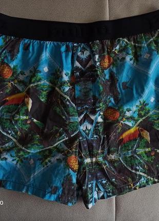 Летние хлопковые пляжные мужские шорты