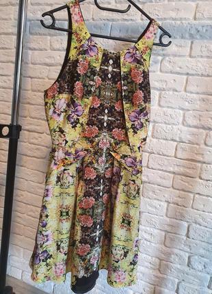 Милое яркое платье 👗 topshop