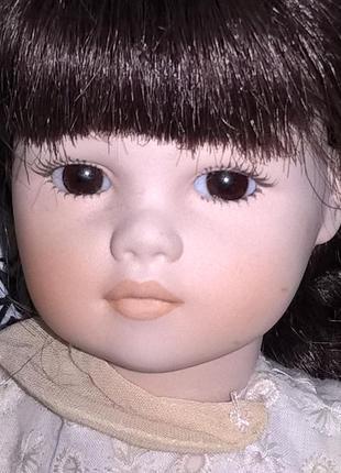 Фарфоровая кукла «gaia» t&c creazioni