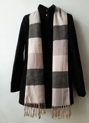 Черное пальто george