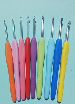 Крючки для вязания 9 шт.