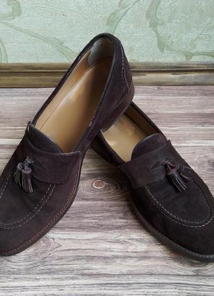 Туфли-лоферы massimo dutti. размер 45/29,5 ст.