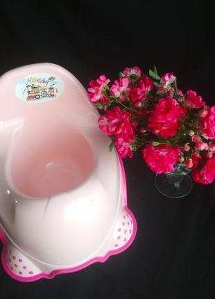 Детский горшок, 130, розовый