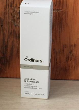 Сироватка argireline solution 10% the ordinary