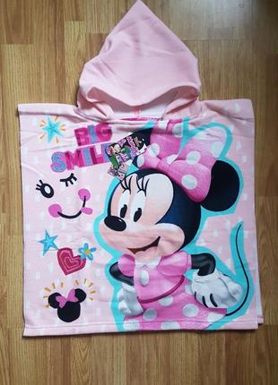 Новые пляжные полотенца - пончо для мальчиков и девочек