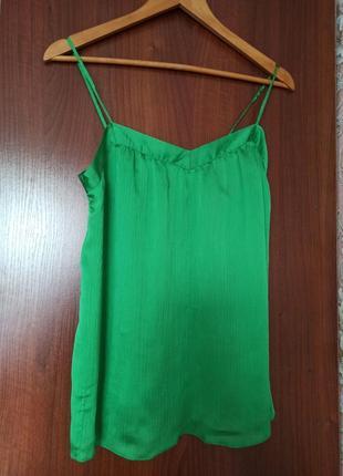 Зелёная майка