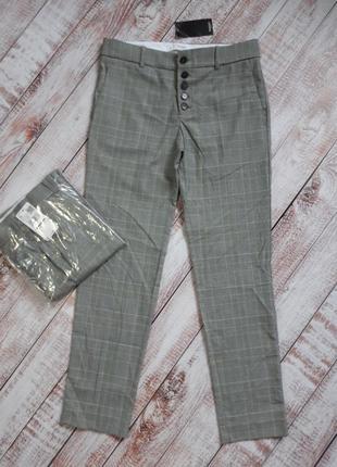 Укороченные брюки, штаны m 38, l 40 euro mango, испания4 фото