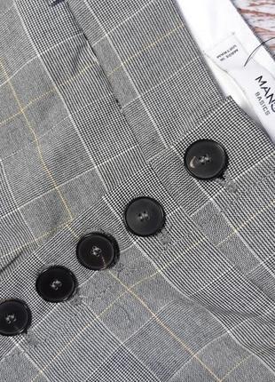 Укороченные брюки, штаны m 38, l 40 euro mango, испания5 фото
