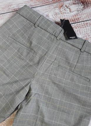 Укороченные брюки, штаны m 38, l 40 euro mango, испания6 фото