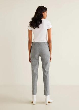 Укороченные брюки, штаны m 38, l 40 euro mango, испания3 фото