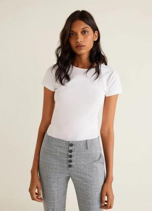 Укороченные брюки, штаны m 38, l 40 euro mango, испания2 фото