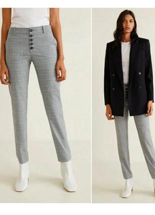 Укороченные брюки, штаны m 38, l 40 euro mango, испания