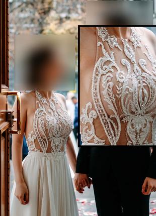 Свадебное платье для миниатюрной девушки