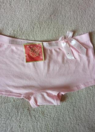 Трусики , женские трусы , шортики , розовые шортики