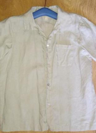 Рубашка льняная little linens