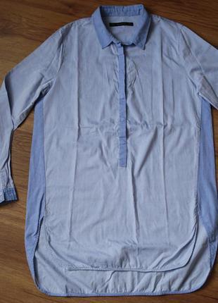 Платье-рубашка zara