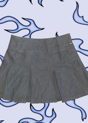 Джинсовая юбка tommy hilfiger