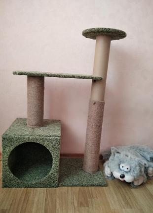 Домик-когтеточка для котика 🐱
