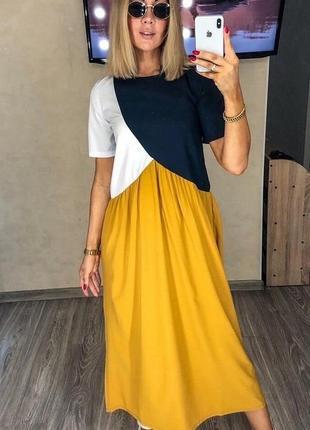 Супер легкое платье из софта