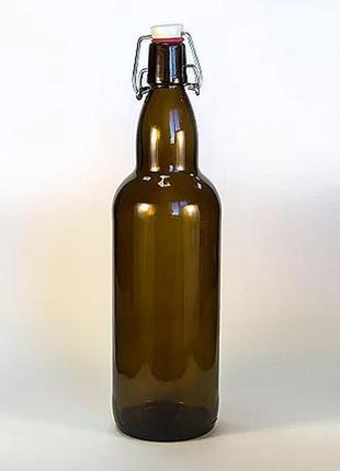 Бутылка с бугельным замком, 1 л; продажа или подарок к покупке