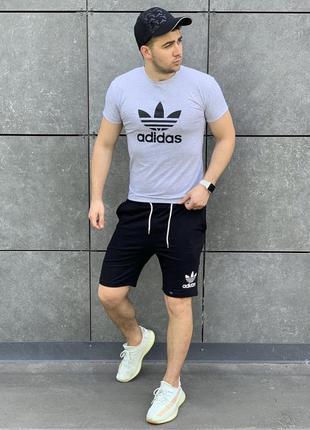 Спортивный комплект адидас🔥футболка и шорты