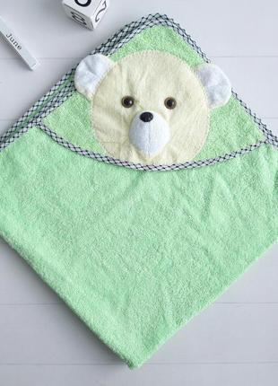 Детское стильное полотенце уголок мишка