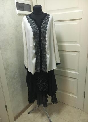 Шикарная блуза samoon на пог73