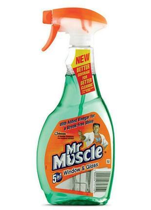 Средство для мытья стекол мистер мускул , средство для зеркал