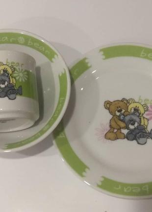 Limited edition. дитяча посуда.
