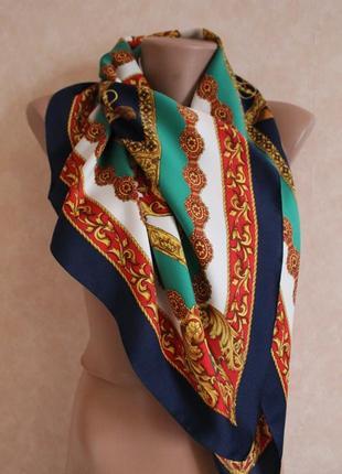Изысканный винтажный платок