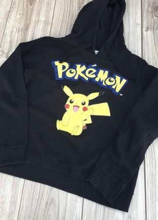 Pokémon pikachu пикачу покемон h&m худа толстовка тренд стильная актуальная
