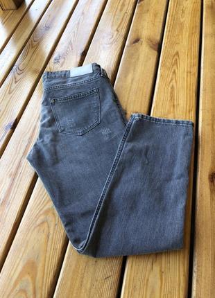 Джинсы girlfriend/ boyfriend / крутые рваные джинсы 👖