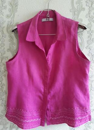 Льняная рубашка kaliko