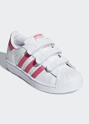 Детские кроссовки adidas superstar cg6621