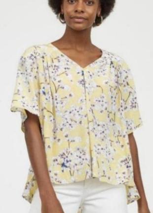 Блуза h&m anna glover 40 l