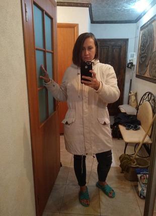 Куртка парка пальто , парка зимняя cubus