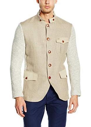Itali льняной блейзер 52 xl luis trenker пиджак куртка жакет