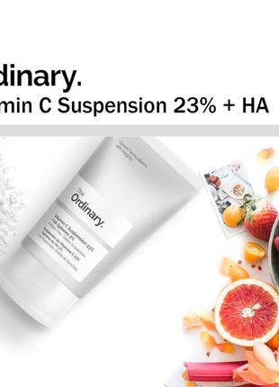 Сыворотка с витамином с the ordinary vitamin c suspension 23% + ha
