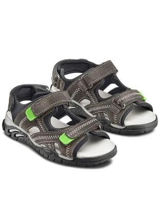 Сандалии, сандалі, босоножки, босоніжки, для мальчика, для хлопчика, 33 размер, bata, кожа