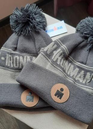 Вязаная шапка от boco gear 100% оригинал