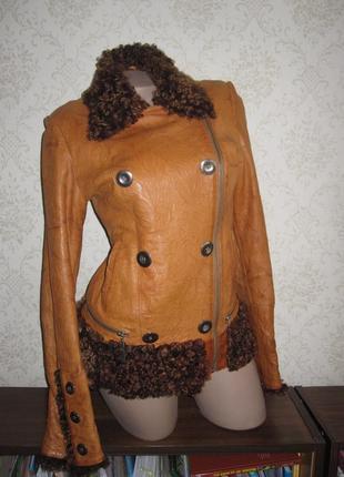 Куртка - косуха кожаная, р.s-m