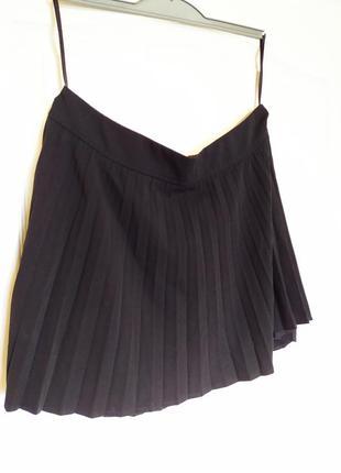 Плиссированная короткая юбка next. размер 12/40