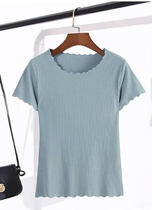 Трикотажная футболка размер s-m
