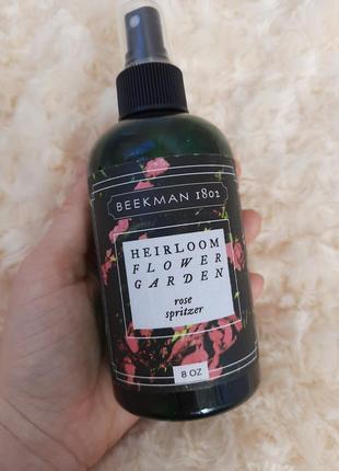 Beekman 1802 heirloom flower garden spritzer спрей для тела дома текстиля духи натуральные