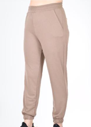 Джоггеры, штаны на манжете, брюки на манжете, брюки трикотаж р-р с 50 по 58