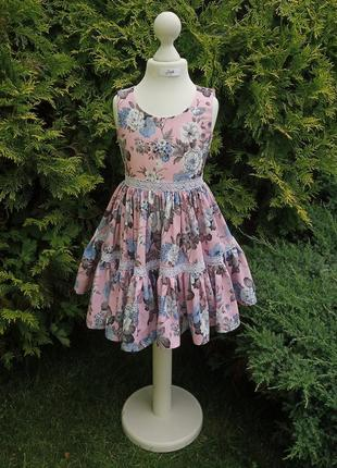 Детское легкое платье