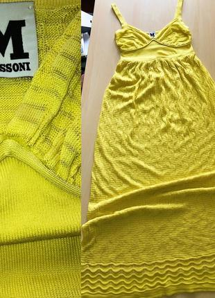 Сарафан платье на тонких бретелях missoni оригинал