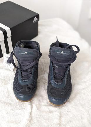Стильные высокие лёгкие кроссовки stella mccartney for adidas - оригинал nike