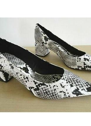Трендовые туфли лодочки